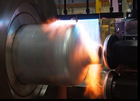 High Pressure Spun Cylinder